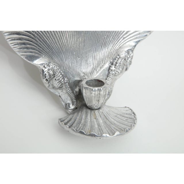 Figurative Arthur Court Shell Candle Sconces - a Pair For Sale - Image 3 of 8