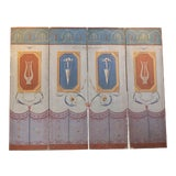 Image of Four-Panel French Screen For Sale