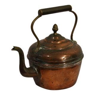 Decorative Copper Teapot