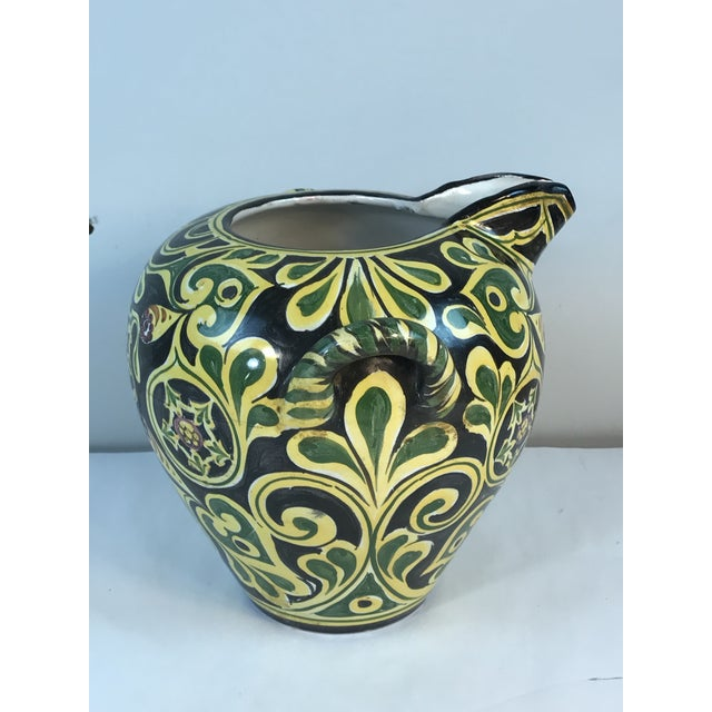 Antique 19th C. Cantagalli Deruta Italy Pottery Urn Vase For Sale - Image 13 of 13
