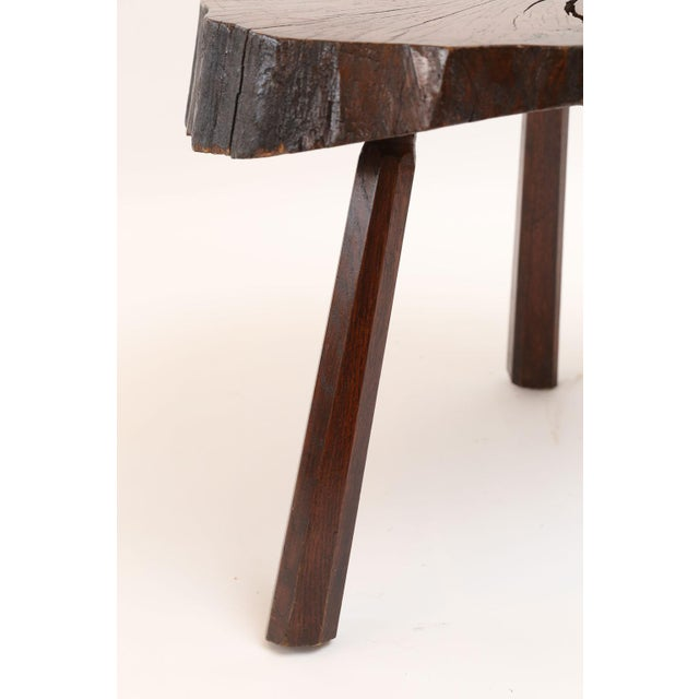 Vintage Tree Trunk Table For Sale - Image 9 of 13