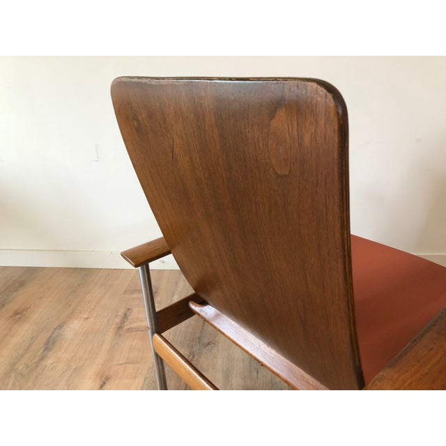 1960s Vintage Sven Ivar Dysthe Norwegian Armchairs With New Upholstery - a Pair For Sale - Image 5 of 9