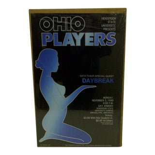 """""""Ohio Players"""" 1980 Concert Poster For Sale"""
