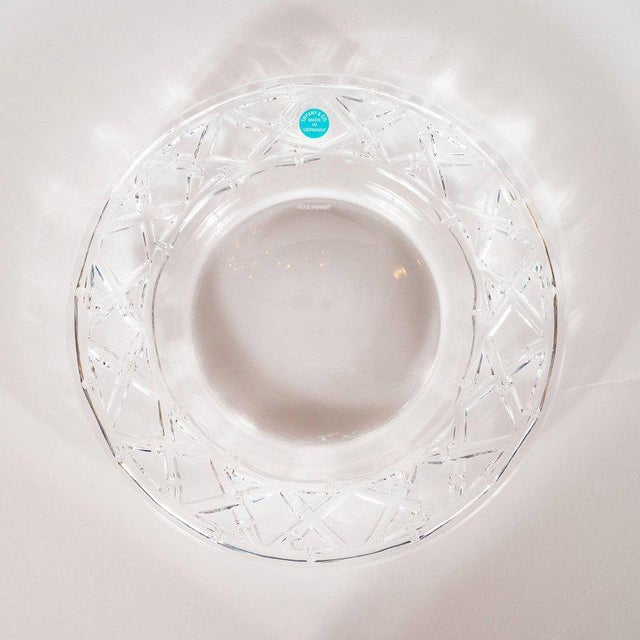 This stunning set of four Dessert/Hors D'oeuvres plates were designed by the fabled American maker- Tiffany & Co. and...