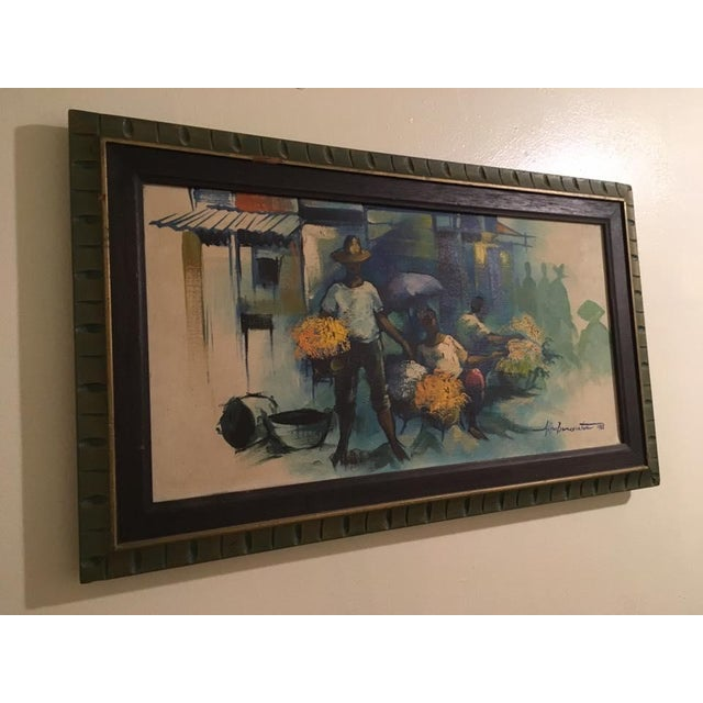 Original Impressionist Painting by Alfredo Buenaventura For Sale - Image 5 of 6