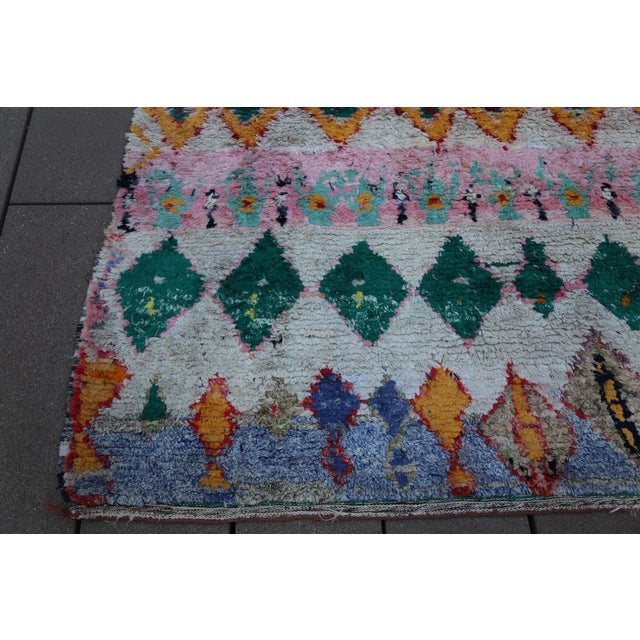 Moroccan Rug - 6′ × 8′2″ For Sale In New York - Image 6 of 7
