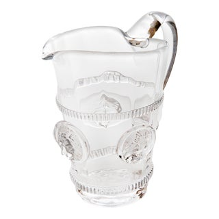 Lionshead Pitcher with Rings, Small For Sale