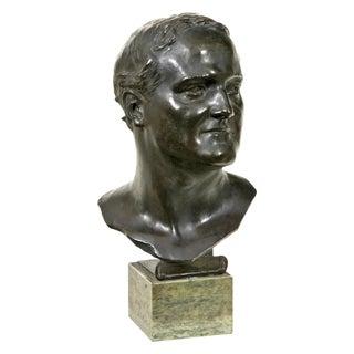 Glasgow School Bronze Bust by Francis Derwent Wood