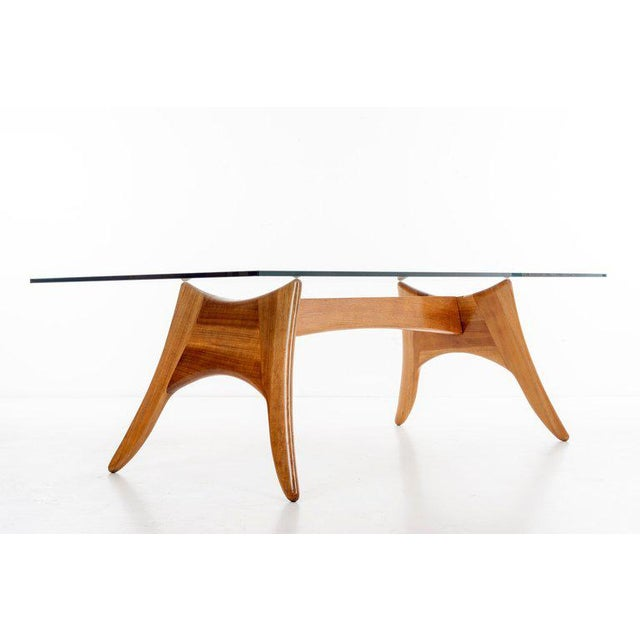 Mid-Century Modern 1970's California Craft Dining Table For Sale - Image 3 of 10