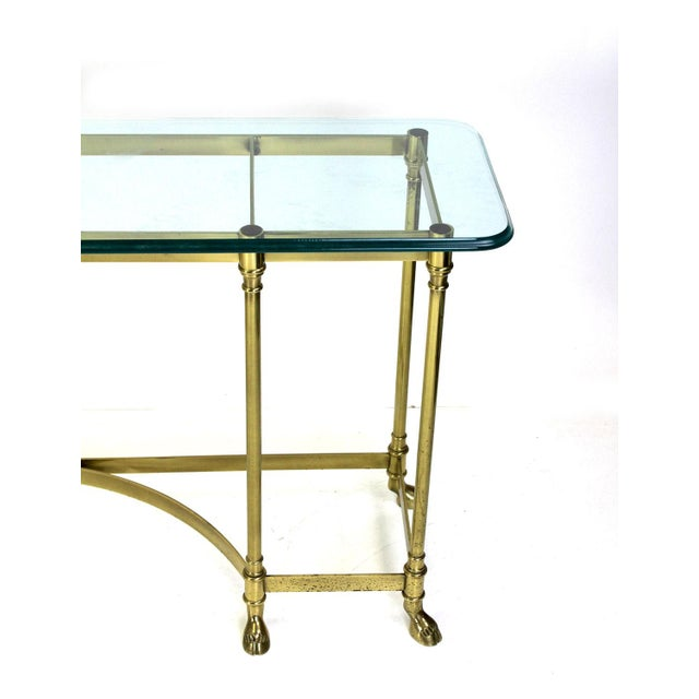 Italian Brass Hoof Foot Console For Sale In Miami - Image 6 of 10