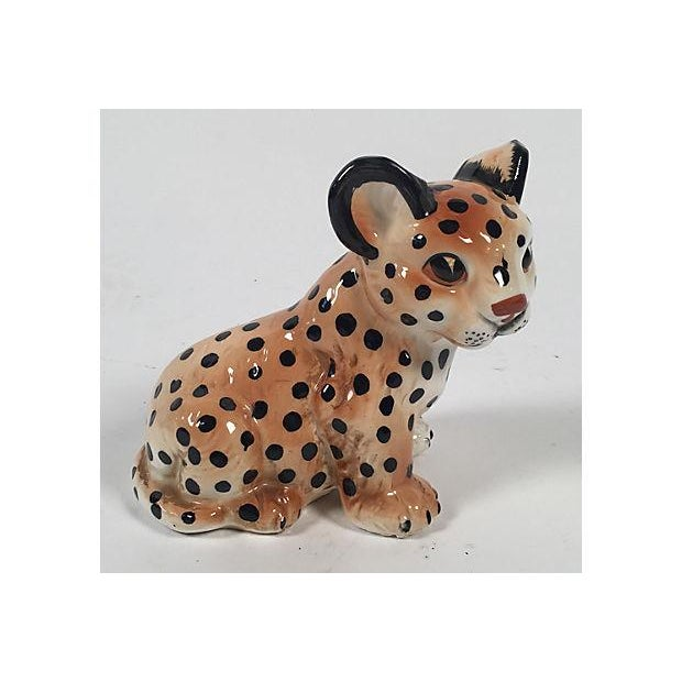 Ceramic Leopard Cub - Image 3 of 5