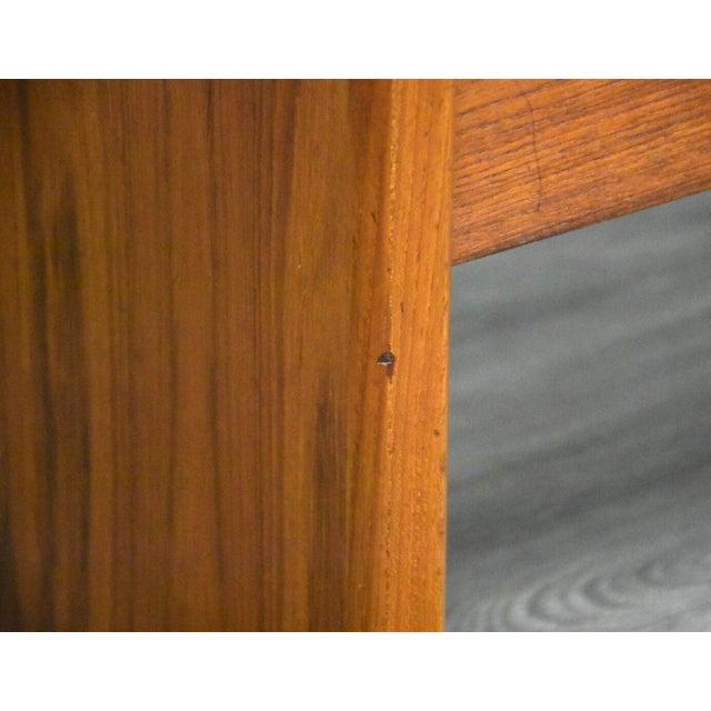 Wood Danish Teak MCM Filing Cabinet For Sale - Image 7 of 11