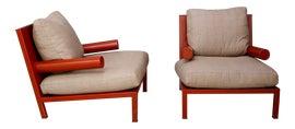 Image of Animal Skin Club Chairs