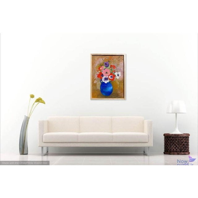 Large - French Bouquet of Flowers, Oil Painting For Sale - Image 4 of 13