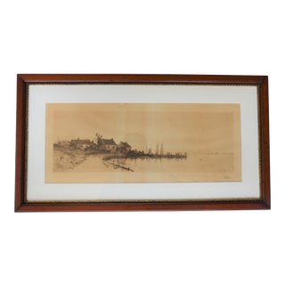 Edward Loyal Field Framed Etching For Sale