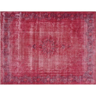 "Nalbandian - 1960s Overdyed Persian Kerman Carpet - 10' X 13'2"" For Sale"