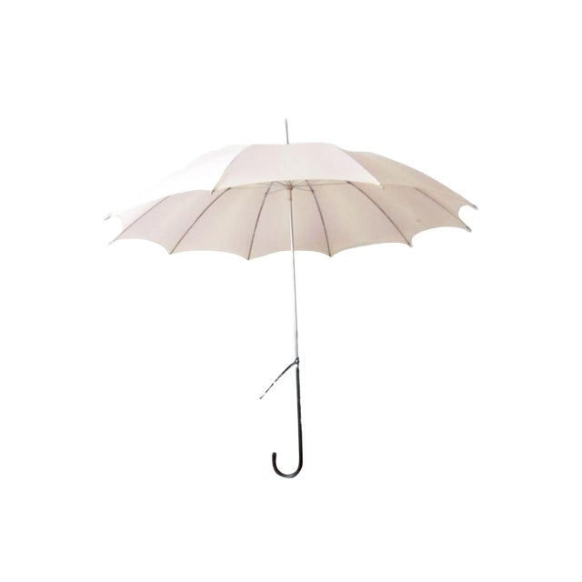 Vintage Ivory Blush Umbrella - Image 1 of 6
