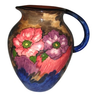 1940s H & K Tunstall Pitcher For Sale