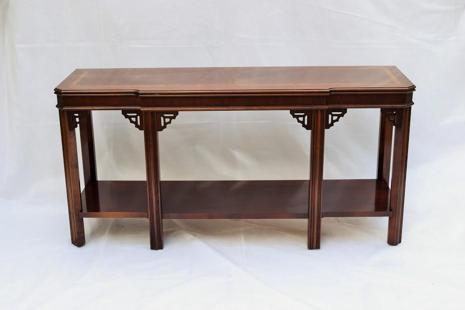 This Is A Beautiful Console Table From Laneu0027s Alta Vista Collection. It Has  Beautiful Inlay