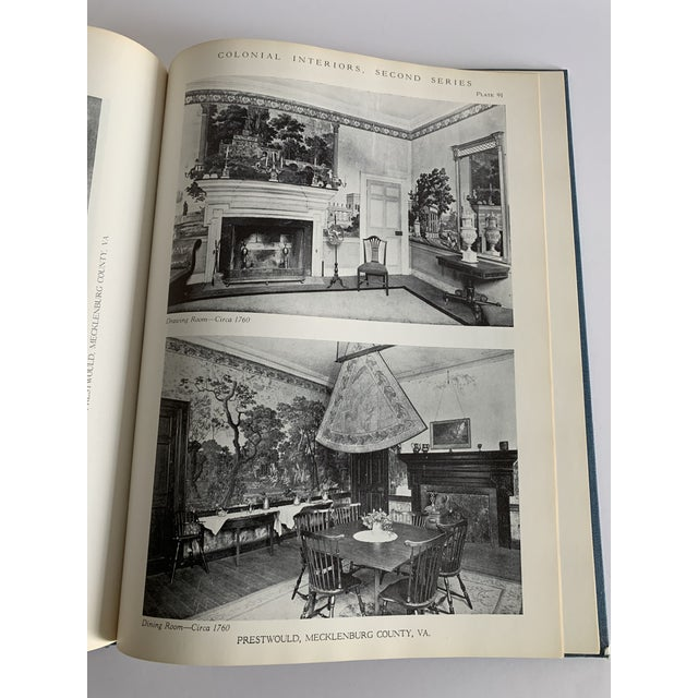 Colonial Interiors Hardcover Book For Sale - Image 11 of 13
