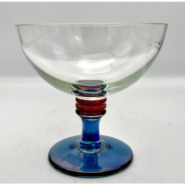 1960s 1960s Vintage Mid-Century Modern Italian Cristallerie Bowl For Sale - Image 5 of 8