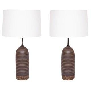 Matthew Ward Studio Ceramic Table Lamps For Sale