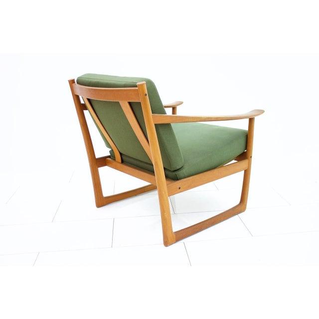 Peter Hvidt & Orla Molgaard Nielsen Teak Lounge Chair, Denmark 1961 For Sale - Image 6 of 6