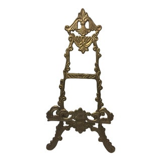 Victorian Brass Table-Sized Easel