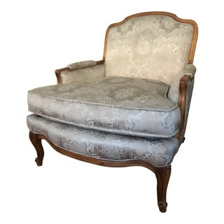 20th Century Louis XV Style Bergere Chair