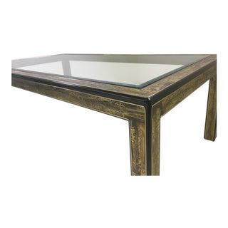 Mastercraft Dining Table by Bernhard Rohne For Sale