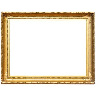 19th Century Gilt Picture or Mirror Frame For Sale