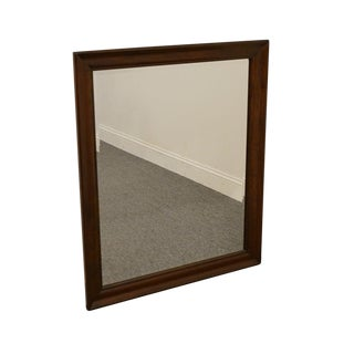 Cresent Solid Cherry Mirror For Sale