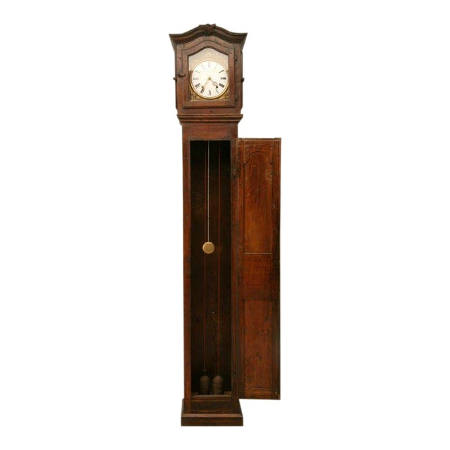 C1820 French Antique Tall Case Clock For Sale