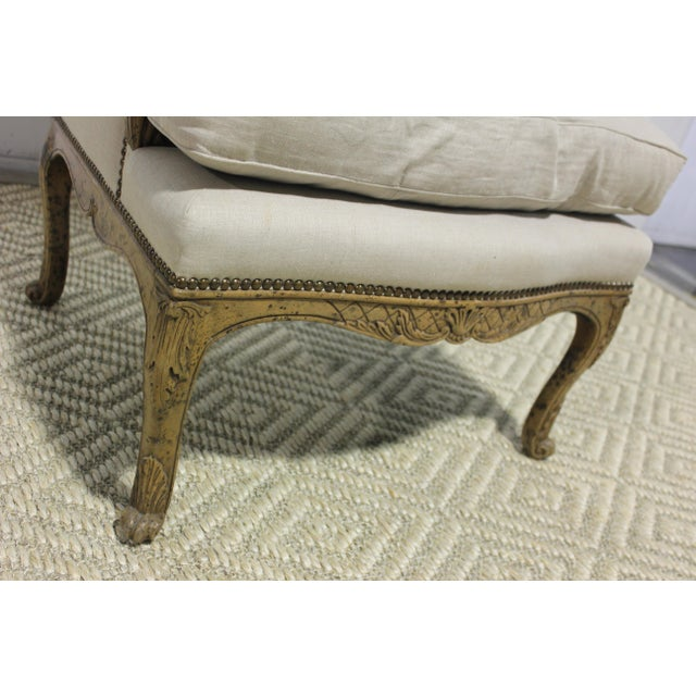 Early 20th Century Early 20th Century Vintage Yale R. Burge Arm Chair For Sale - Image 5 of 8