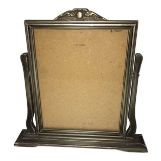 1950s Art Deco Frame on Stand For Sale
