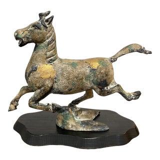 Vintage Japanese Figurine of Flying Horse of Gansu For Sale