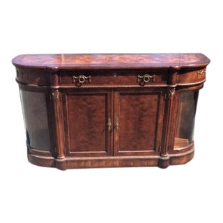 Henredon Grand Continent Burled Buffet or Sideboard