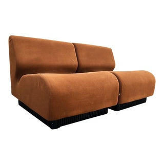 Mid Century Don Chadwick for Herman Miller Modular Seating- 2 Pieces For Sale