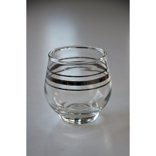 Transparent Dorothy Thorpe Style Cocktail Set - Set of 6 For Sale - Image 8 of 9