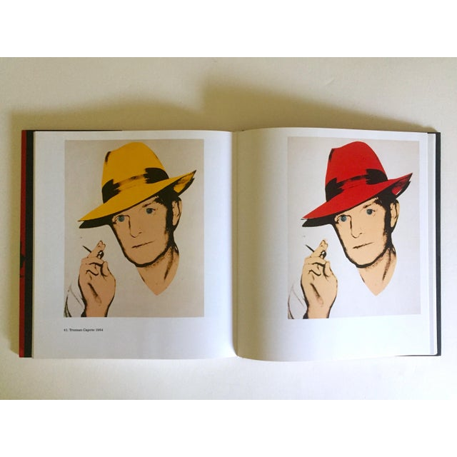 """Andy Warhol """" Andy Warhol Portraits """" Rare 1st Edtn Vintage 1993 Iconic Collector's Volume Hardcover Book For Sale - Image 4 of 13"""