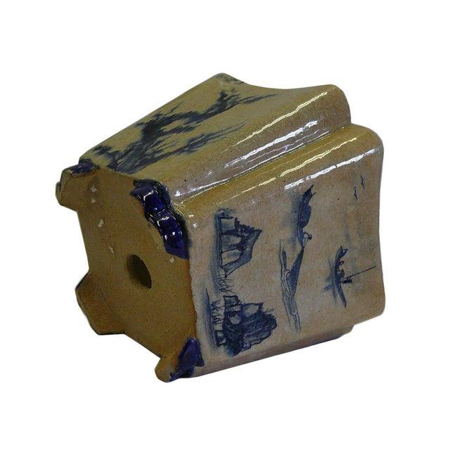 Oriental Scenery Ceramic Planter & Flower Pot - Image 4 of 5