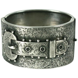 Victorian English Aesthetic Cuff For Sale
