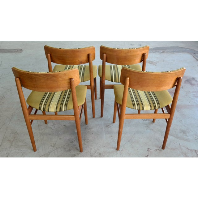Soroe Style Danish Maple Dining Chairs - Set of 4 - Image 6 of 9