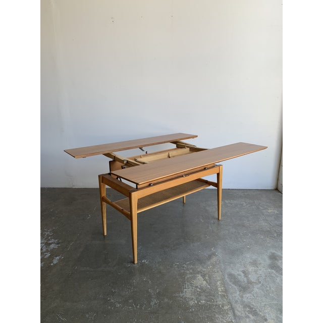 Wood Covertible Coffee Table For Sale - Image 7 of 13