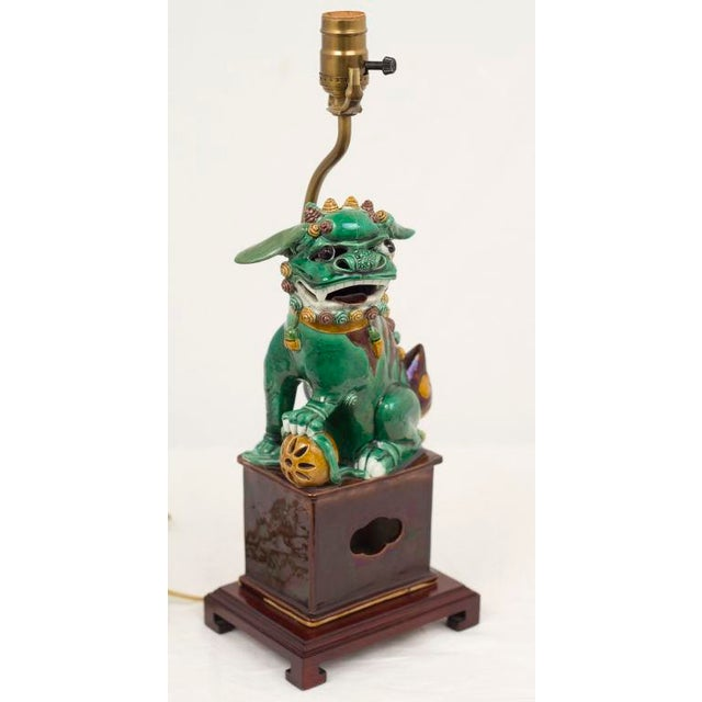 Chinese Porcelain Foo Dog For Sale - Image 4 of 4