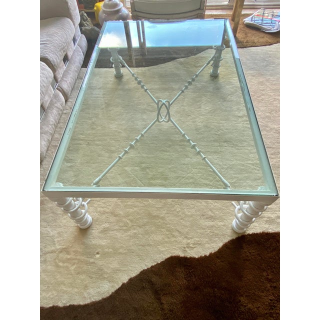 Giacometti Style Coffee Table For Sale - Image 9 of 11