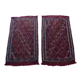 Vintage Small Oushak Rug - a Pair For Sale