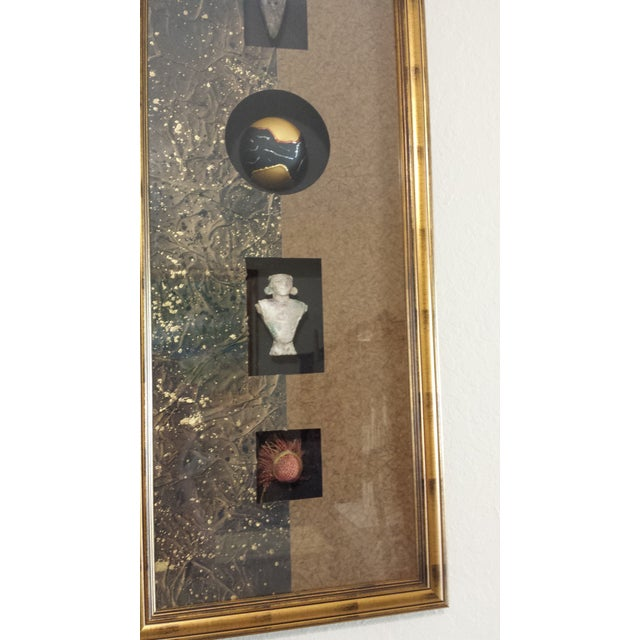 Modern Framed Chinese Artifact Wall Art For Sale - Image 3 of 7