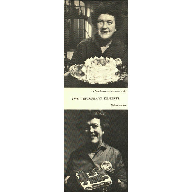 French Julia Child's French Chef Cookbook For Sale - Image 3 of 4