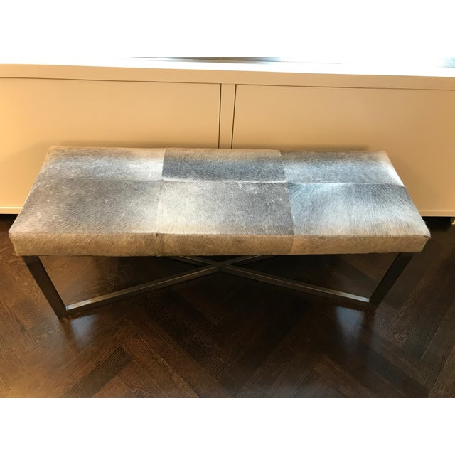 Contemporary Made Goods Roger Double Bench For Sale - Image 3 of 7
